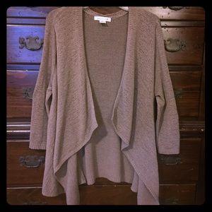 Knit sweater, 3/4 sleeve